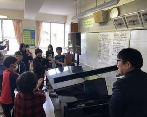 乗り入れ授業(音楽)