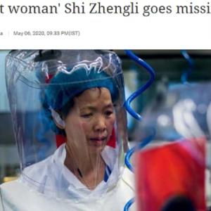 """新型コロナで注目の""""コウモリ女""""が「中国から機密文書を持ち出して米国に亡命」情報の真偽"""
