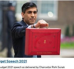 イギリスの予算演説