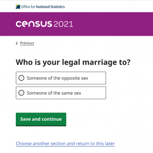 イギリスの国勢調査