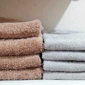 【タオル買い替え】部屋干しでも速く乾いてやわらかい、薄手の今治タオルを選びました。