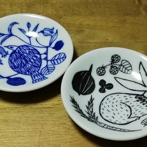 【食器】かわいい豆皿を購入。お気に入りに出会えました♪