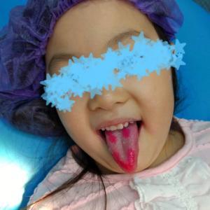 ブラジルで子供達の歯科検診
