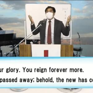 インターナショナル礼拝の賛美