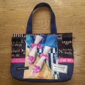 ピンクの靴Bagもちくちくへ納品します いよいよ10月1日から高槻阪急のイベントです