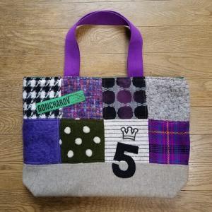 紫×緑のかばんが完成・・・ MJと相葉ちゃん色 この二人、モデルズって言うんだね・・・