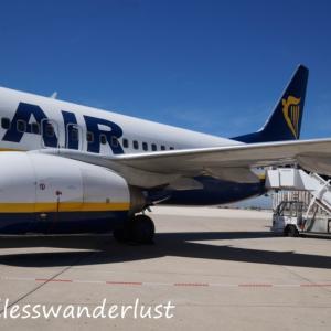 ヨーロッパ周遊旅行回想録(21)Ryanair FR9017 (フェズ→バルセロナ)搭乗記