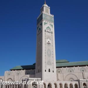 ヨーロッパ周遊旅行回想録(13)憧れのモロッコを行く③世界で3位の大きさ、ハッサン2世モスクほか