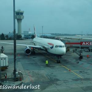 ヨーロッパ周遊旅行回想録(5)満足フライト! ブリティッシュエアウェイズ・BA677 IST→LHR 搭乗記