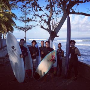 BALI SURF 1日目