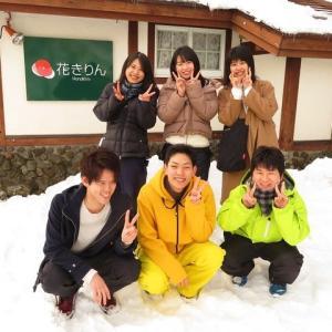 裏磐梯の冬を満喫!仲良しグループ!!