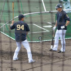 2019/10/13 オリックスバファローズ T-岡田外野手・後藤光尊コーチ