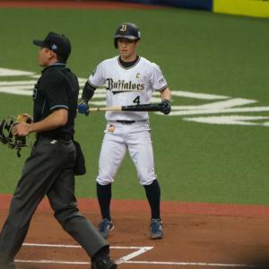 2019/4/6 オリックスバファローズ 福田周平内野手