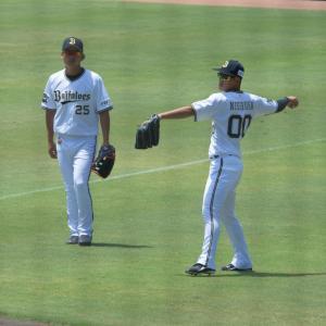2019/8/7 オリックスバファローズ 西村凌外野手・西浦颯大外野手