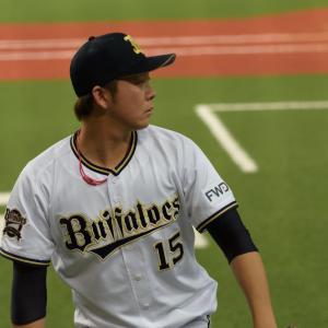 2019/7/3 オリックスバファローズ 荒西祐大投手