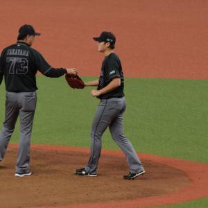 2019/8/25 オリックスバファローズ 山田修義投手