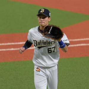 2019/9/24 オリックスバファローズ 中川圭太内野手