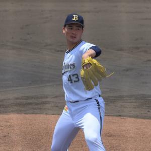 2020/7/22 オリックス・バファローズ 前佑囲斗投手