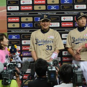 2015/7/20 オリックス・バファローズ 縞田拓弥内野手・安達了一内野手