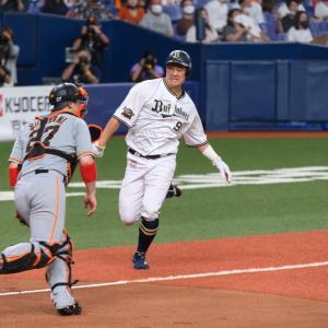 2021/6/9 オリックス・バファローズ 杉本裕太郎外野手