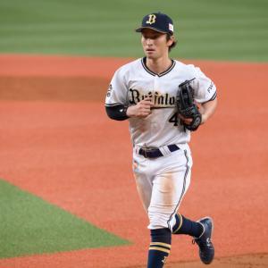 2021/6/9 オリックス・バファローズ 福田周平内野手