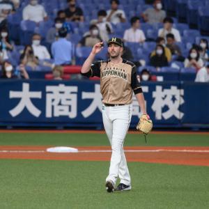 2021/6/22 北海道日本ハムファイターズ ドリュー・バーヘイゲン投手
