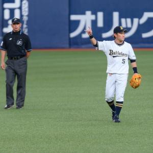 2021/6/24 オリックス・バファローズ 西野真弘内野手