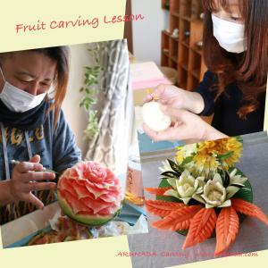 野菜果物のカービング
