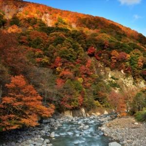 みちのく滝ノ上紅葉