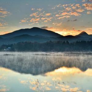 みちのく御所湖朝陽景