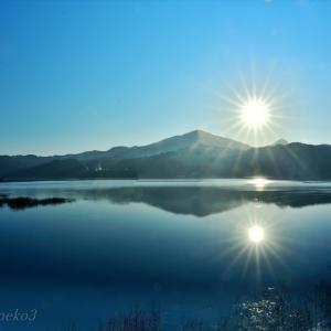 みちのく御所湖朝陽景11