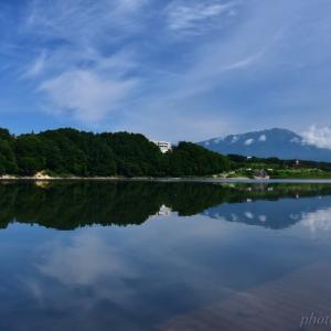 みちのく夏の御所湖景