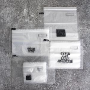 キッチンの悩みを解決!(#2)キッチンの食品用ジッパーバッグのサイズ別収納アイデア