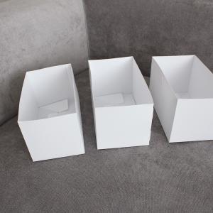 【キャンドウのマイヒット!】組立式マスクボックスが使えます!ひと手間加えて使い勝手の良い収納の仕切りケースを作る