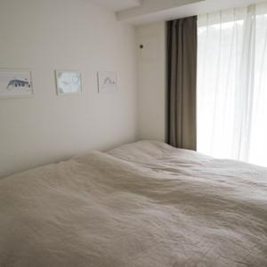 寝室の衣替え完了と、我が家の風邪対策