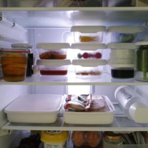 週半ばのリアル冷蔵庫