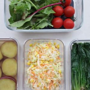 Oisix のお気に入り野菜と、今日の作り置き