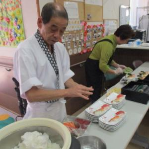 【たんぽぽ新かんべ】お寿司の日の続き・・・