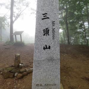 霧の三頭山