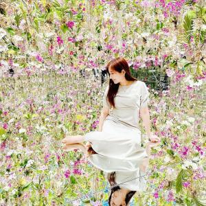 1万株以上の蘭の花に包まれる♡チームラボプラネッツの新エリア