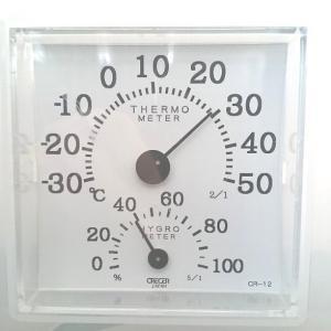 最強の寒波?自宅は29℃の常夏です
