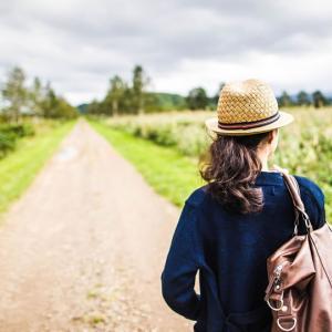 断食施設、心音で一人旅