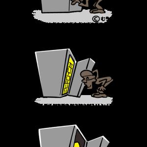 3コマ 金庫破り
