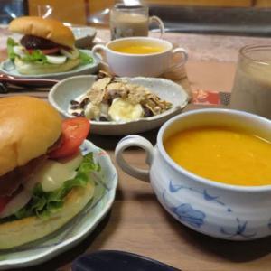 ☆雨の日の朝の黄色いトマトのスープ☆
