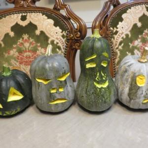 家のハロウィンかぼちゃ♪