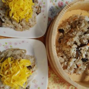 椎茸いっぱい田舎寿司⭐