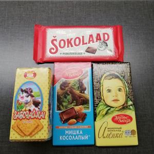 海外のチョコレート