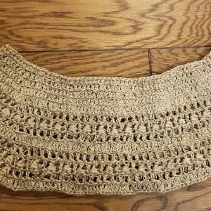 サマーセーター編み始め