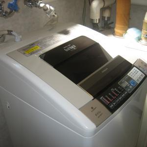 日立洗濯機、分解クリーニングいたします!!