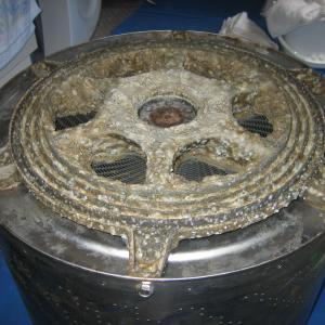 洗浄不可能なドラム式洗濯機